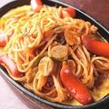 料理メニュー写真名古屋の鉄板ナポリタンスパゲッティー