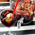 料理メニュー写真フルーツたっぷり自家製サングリア