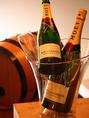 世界一のシャンパンと言われるモエシャンドンもご用意。