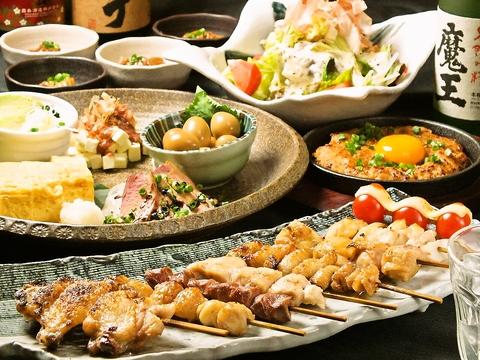 毎月変わる旬の素材を使ったコース料理をお楽しみ頂けます☆各種宴会にどうぞ♪