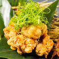 料理メニュー写真国産鶏の唐揚げ