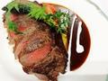 料理メニュー写真牛ロースのビフテキライス