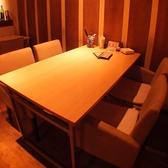 雰囲気バッチリのテーブル席です!