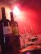 個室にワイン♪