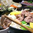 お肉の臭みもなくラム肉その物のお味を楽しめる。ラム肉初めての方にも美味しく召し上がれます。忘新年会や歓送迎会にいかがですか?飲み放題付きコースもご用意しております!