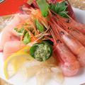 料理メニュー写真本日の鮮魚のお造り3種 (3品盛り)