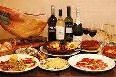 スペイン料理 バル・セレスのコース写真