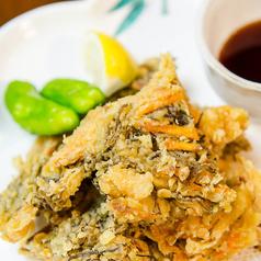 料理メニュー写真もずく天ぷら