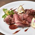 料理メニュー写真アンガス牛サーロインのローストビーフ
