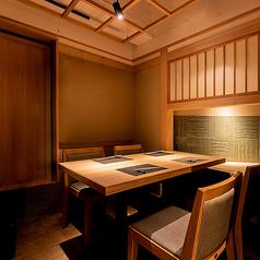 個室肉会席 銀座 きた福 難波の雰囲気1