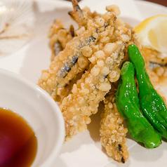 料理メニュー写真スルルーの天ぷら