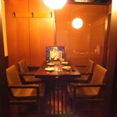 4名対応の個室。限定二組様。人気のお席となっておりますのでお早めにご予約お願い致します。合コン、女子会など各種ご宴会にいかがですか?咲くら横浜店でお待ちしております。居酒屋咲くら横浜店は横浜駅徒歩1分!お買い物帰りやデート、平日のランチ利用にもお越しください。