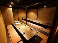 ゆったり広い完全個室