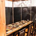 横浜駅きた西口4分【個室あり】落ち着いた雰囲気の大人の隠れ家空間♪小人数の歓送迎会・女子会・誕生日会にもオススメの個室もございます。席数に限りがあるので早めのご予約がオススメ!変幻自在のフロアは最大89名様までOK◎