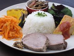 日替わり 5種のお惣菜ランチ