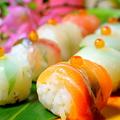 料理メニュー写真海鮮てまり寿司(8カン)
