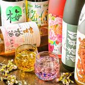 梅酒100種以上常時取揃え♪色んな種類の梅酒を飲み比べ!女子会に大人気☆コース予約の場合+480円え32種の梅酒が飲み放題に!