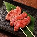 料理メニュー写真ハラミ串焼き