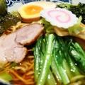料理メニュー写真三国軒ラーメン/塩ラーメン