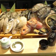 【道産にこだわった海鮮食材!】