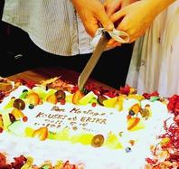 思い出の『結婚式2次会』や各種パーティーに最適。
