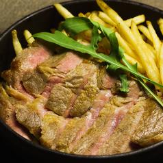 料理メニュー写真上州豚肩ロースの炭火焼き(200g)