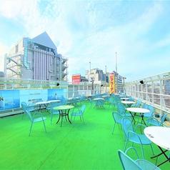 上野アメ横屋上ビアガーデンの写真