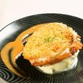 料理メニュー写真スプーンで食べるかにクリームコロッケ(1個)