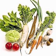 ≪野菜&食材が自慢!保存料不使用◆無農薬野菜使用≫