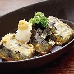 料理メニュー写真黒胡麻豆富の揚げ出汁