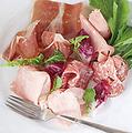 料理メニュー写真(冷)イタリア産生ハムの盛り合わせ