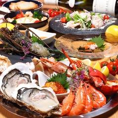 Crab Shrimp and Oyster クラブ シュリンプ アンド オイスターの写真