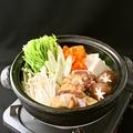 料理メニュー写真大山地鶏の濃厚水炊き!