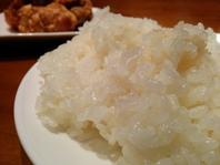 鶏だけじゃなくて、お米もね♪