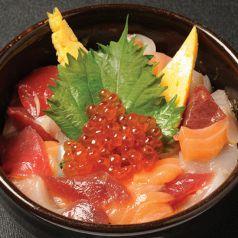 ざうお漬け海鮮丼