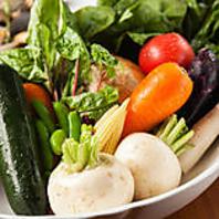 千葉県栗源の自社農園の野菜を使用