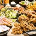 【コースもございます♪】90分飲み放題付きコースは2600円(税込)とリーズナブル♪各種宴会にどうぞ!