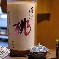 日本酒ベースのとろとろ桃のリキュール