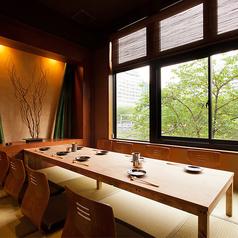 畳の完全個室、接待・会食からお子様連れのご家族まで、色々な用途でご利用可能です(2階)。