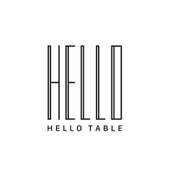 HELLO TABLEの写真