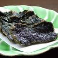 料理メニュー写真岩のりの天ぷら
