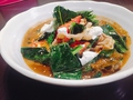 料理メニュー写真緑の野菜とトマトの豚しゃぶ※下記より【スープ】をお選びください。