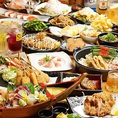 のりを自慢の贅沢食べ飲み放題コースをお楽しみくださいませ。ドリンクは60種類以上、日本酒から焼酎、カクテル、ハイボールやジンビームなど多数取り揃えております。食べ放題メニューではもつ鍋をはじめとした豪華フードの数々をお楽しみいただけます◎のりをにお越しの際は是非一度ご注文くださいませ。