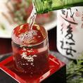北海道産地酒・北の地酒を全11種類ご用意しております。