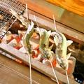 料理メニュー写真あゆの塩焼き
