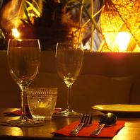 ★お祝い・デートに★南国リゾート風の空間で思い出作り