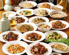 オーダー式食べ放題 本格中華 福家の写真