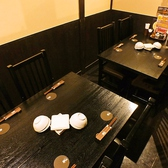 4名様用テーブルは女子会にもぴったり◎