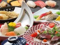 旬食材のおまかせコース3500円~ご用意できます。
