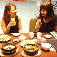 【りんくうタウン駅1分】本格韓国料理で女子会を。